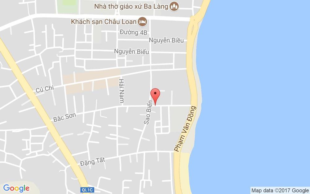 Vị trí bản đồ 77 Bắc Sơn, P. Vĩnh Hải Tp. Nha Trang Khánh Hoà