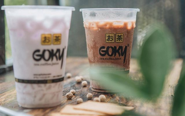 Goky Milktea & Scoop Yogurt