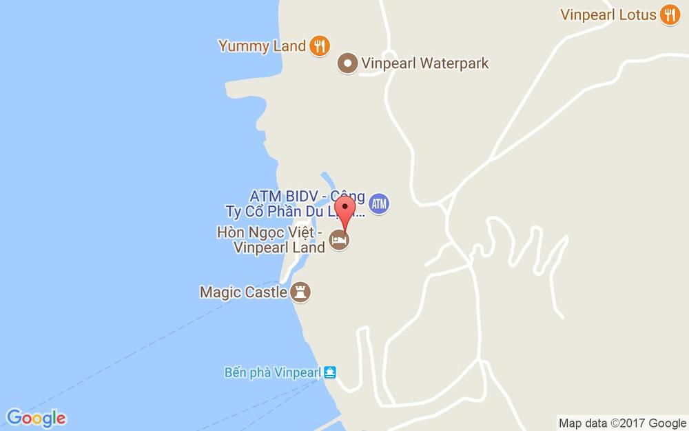 Vị trí bản đồ Vinpearl Land, Hòn Tre Tp. Nha Trang Khánh Hoà