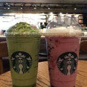 Green tea yogurt vị mới với vị berry cũng mới mà pha chế hơi ngọt . Green tea thì ko có vị trà xanh đâu hết