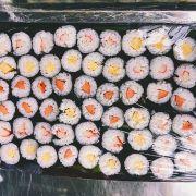 Sushi cuộn rong biển, giá 2k/viên