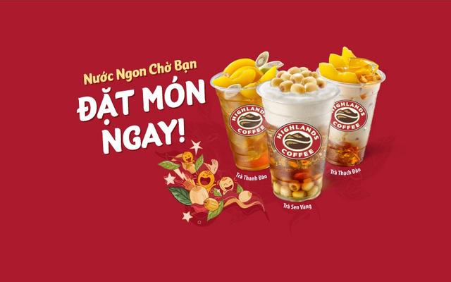 Highlands Coffee - Lotte Mart Bình Dương