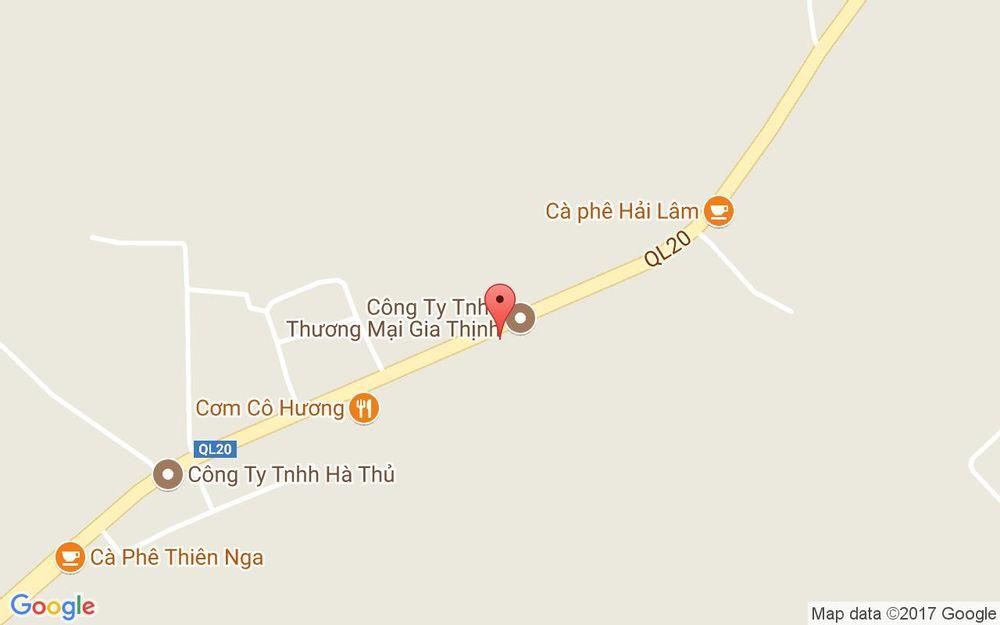 Vị trí bản đồ Cherry - Cà Phê Võng ở Lâm Đồng