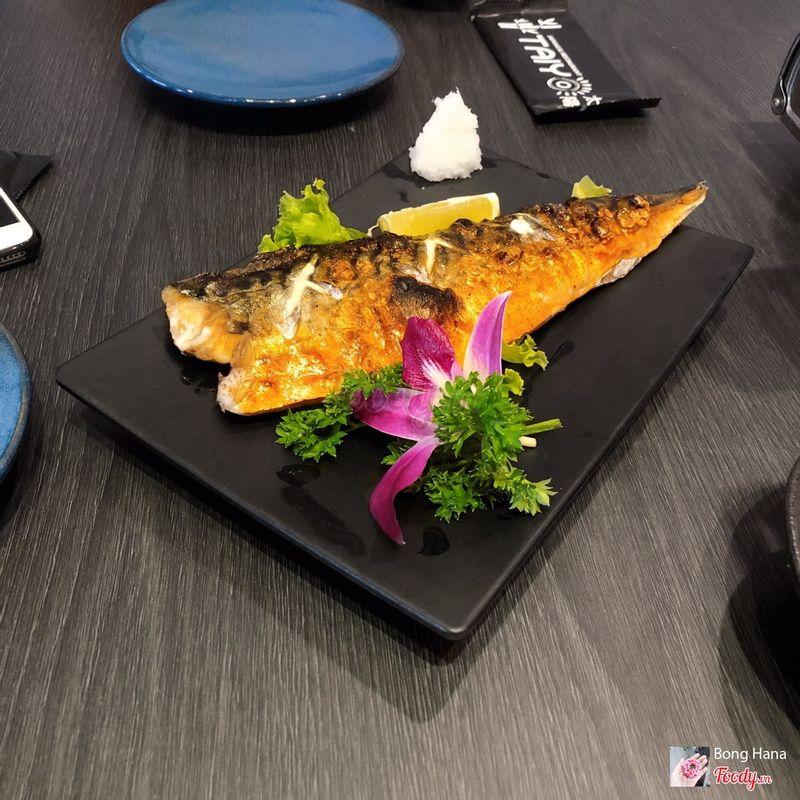 Cá saba nướng muối - 85k