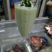 sinh tố dừa trà xanh 🍵