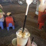 Sinh tố kem dừa