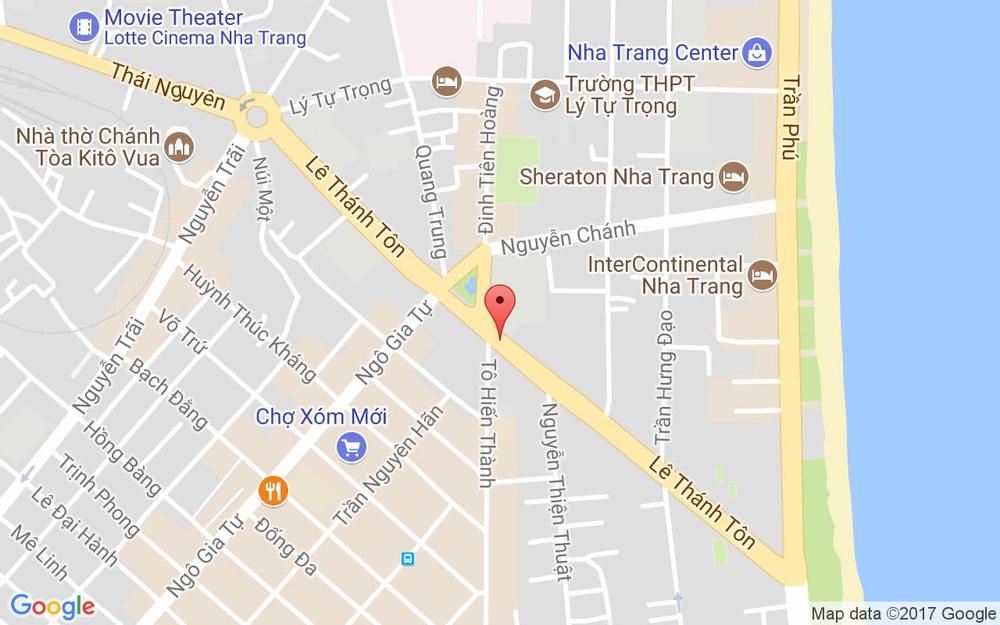 Vị trí bản đồ 27 Lý Thánh Tôn Tp. Nha Trang Khánh Hoà