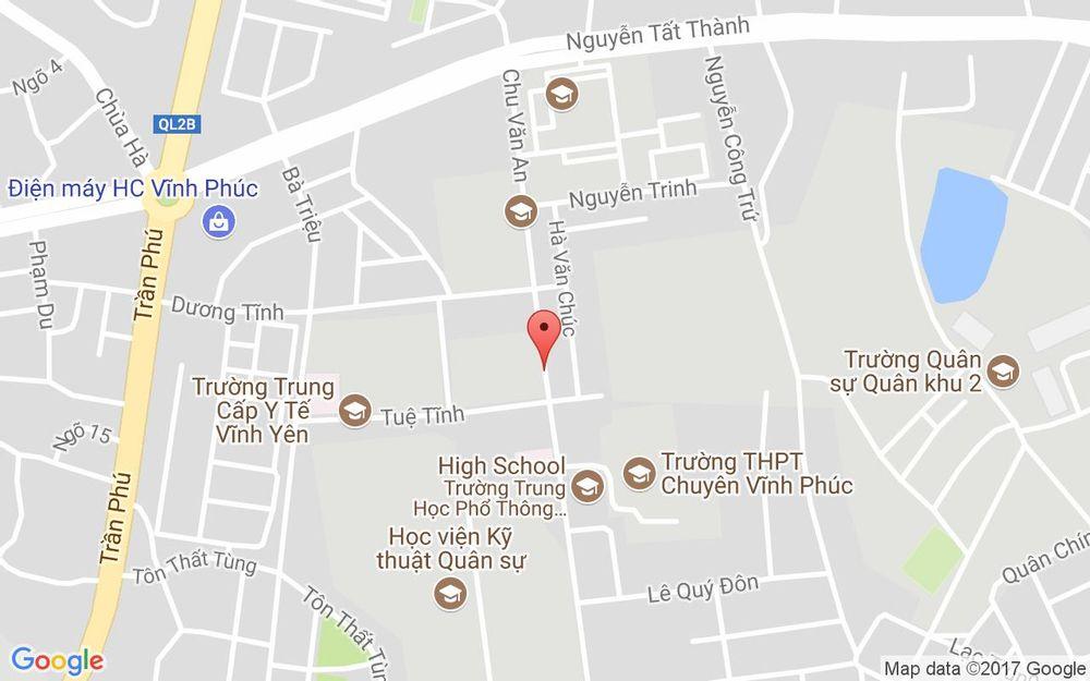 Vị trí bản đồ Sành Quán - Chuyên Ẩm Thực Việt ở Vĩnh Phúc