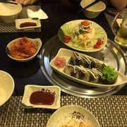 Kimbap và salat rong biển