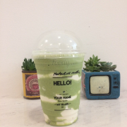 Matcha smoothies