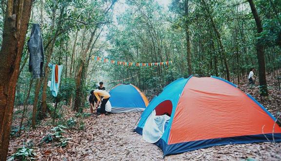 Hoạt động cắm trại bổ ích tại Khu du lịch