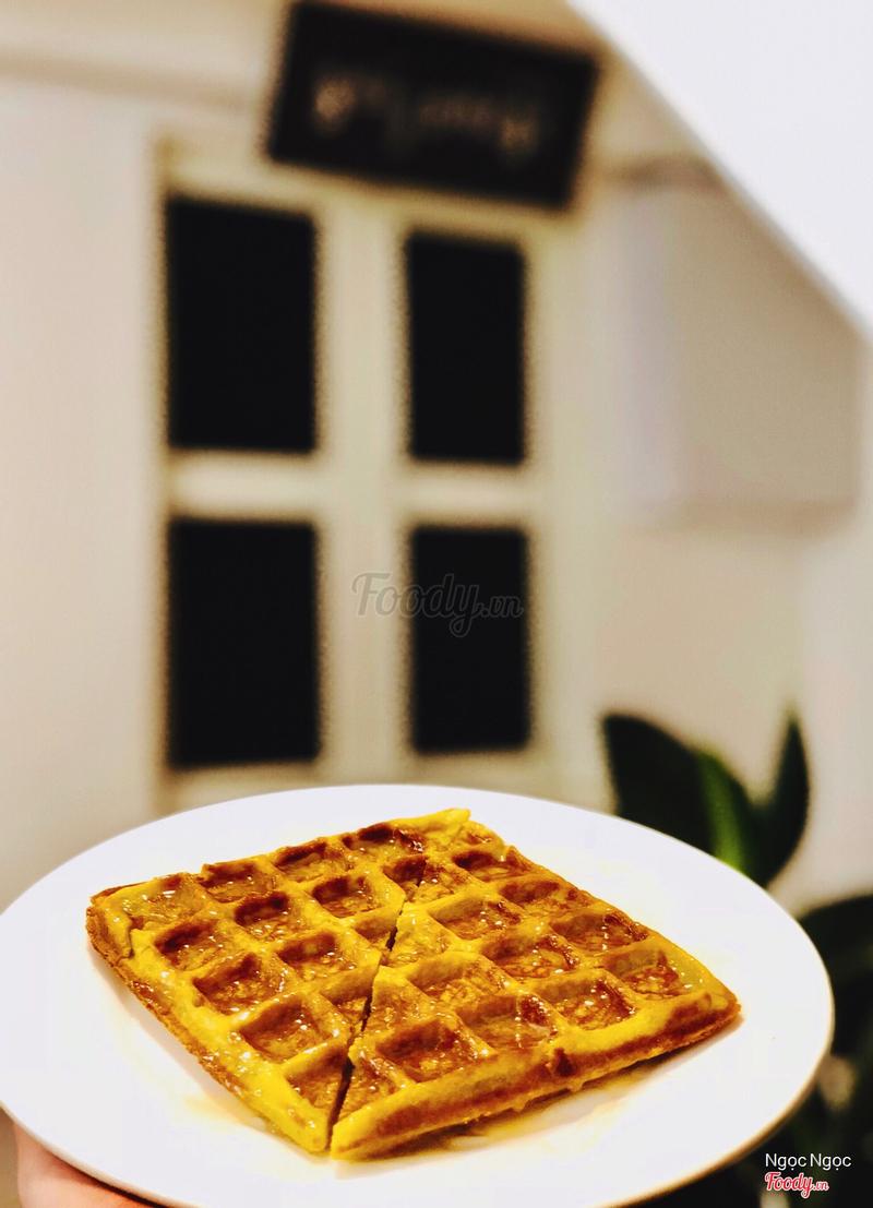Waffle mật ong