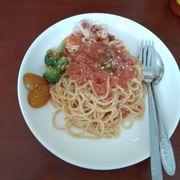 Mỳ Ý hải sản cà chua 47k
