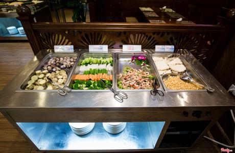 Buffet Sen Xanh - Blue Lotus Center