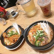 Mỳ kimchi thập cẩm ,mỳ gà ,ts trân châu