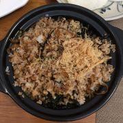 cơm chiên rong biển + chà bông