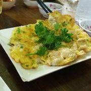 Trứng chiên tủy bò