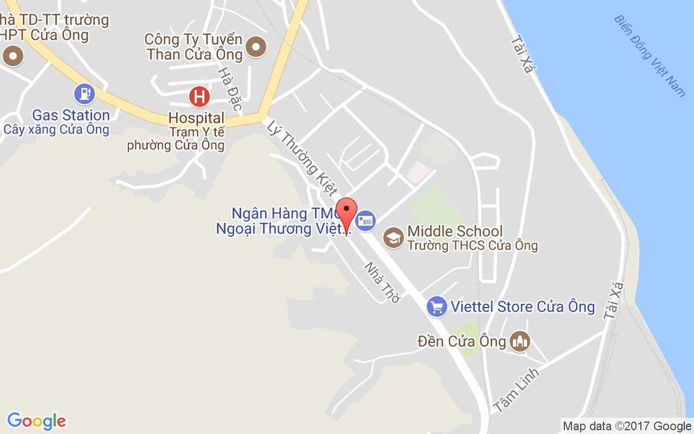 Vị trí bản đồ Tổ 68 Khu 6, P. Cửa Ông Tp. Cẩm Phả Quảng Ninh