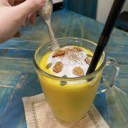 Pumpkin latte.