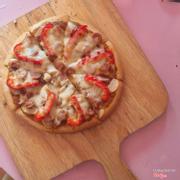 Pizza bò 45k