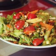 Salad rau trộn củ quả