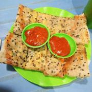 Bánh tráng tóp mỡ - bánh tráng cải chua