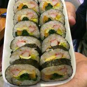 Kimbab thanh cua
