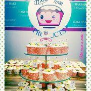19 - Tháp cupcake 30 cái - 15k/cái (bắp, xoài), 20k/cái (sầu riêng