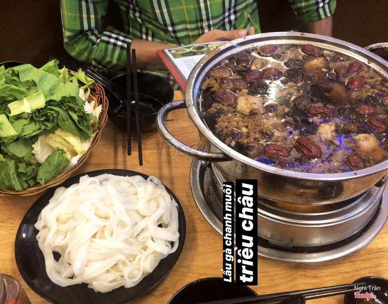 Lẩu gà chanh muối Triều Châu