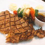 Beefsteak sốt nấm