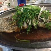 cá mú hấp xì dầu