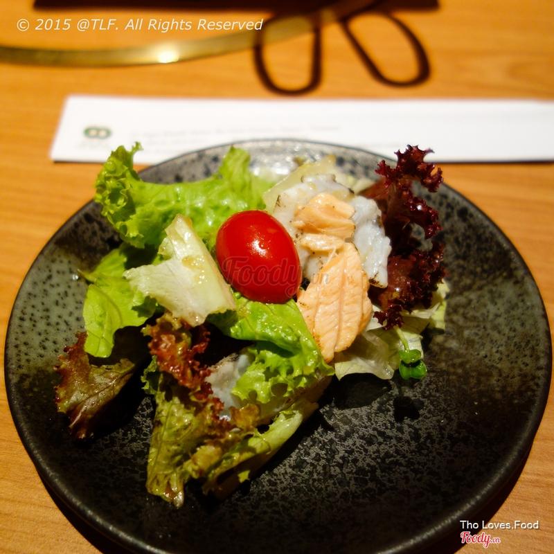 Salad hải sản
