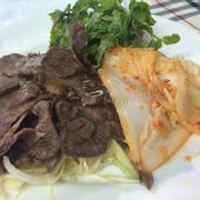 bắp bò kim chi