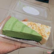 Cheesecake matcha & dừa