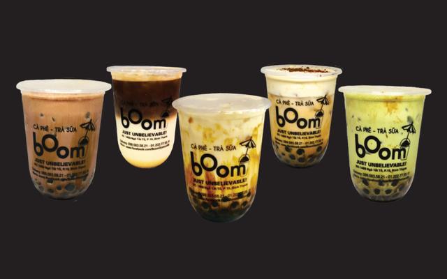 Boom - Cà Phê & Trà Sữa - Sữa Tươi Trân Châu Đường Đen