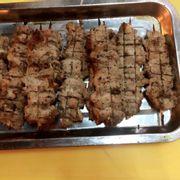Thịt xiên nướng