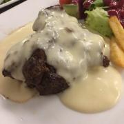 Steak bò phô mai