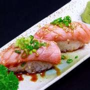 Sake tataki sushi