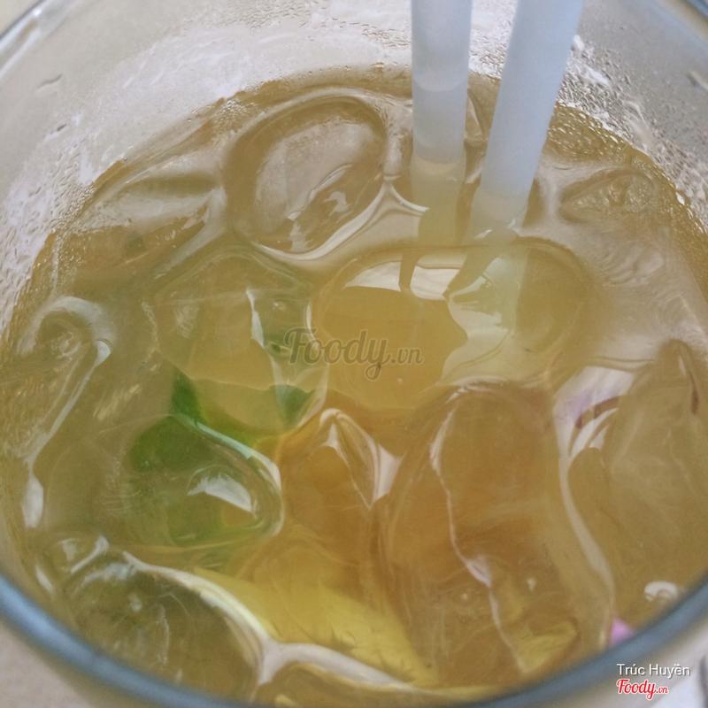 trà chanh sả