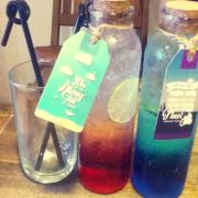 Soda blue ocean va strawberry
