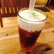 Hồng trà macchiato ngon