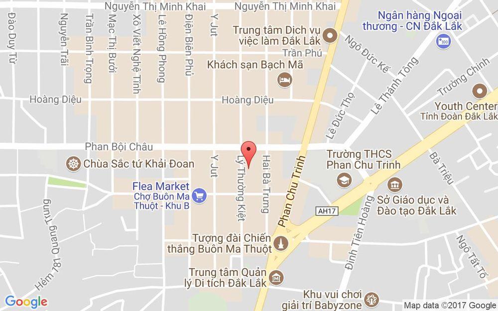 Vị trí bản đồ Starlight Cinema - Buôn Ma Thuột ở Đắk Lắk
