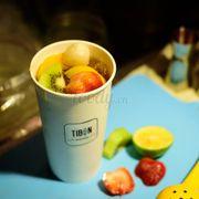 Trà Tibon Topical với các loại trái cây đào, vải, kiwi, dâu