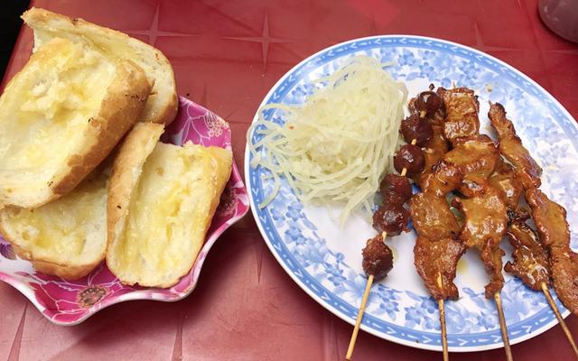 Bánh Mì Bò Nướng Cambodia