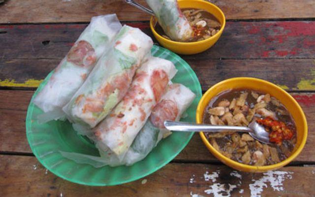 Bò Bía Trứng - Chợ Tân Định