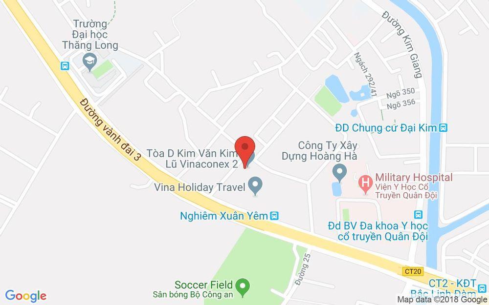 Vị trí bản đồ Kiot 44 HH2A Linh Đàm Quận Hoàng Mai Hà Nội