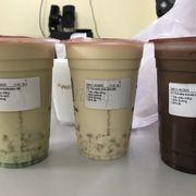 Mình đặt trà xanh nhài sữa có kem cheese mà k thấy có. Uống chẳng thấy thơm vị nhài vs vị kem cheese đâu cả. Vừa đặt xong