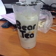 Lục trà sữa size L + trân châu trắng