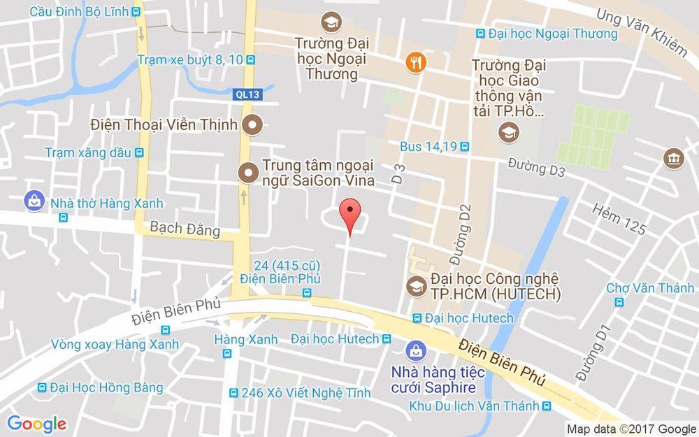 Vị trí bản đồ 441/38 Điện Biên Phủ, P. 25 Quận Bình Thạnh TP. HCM