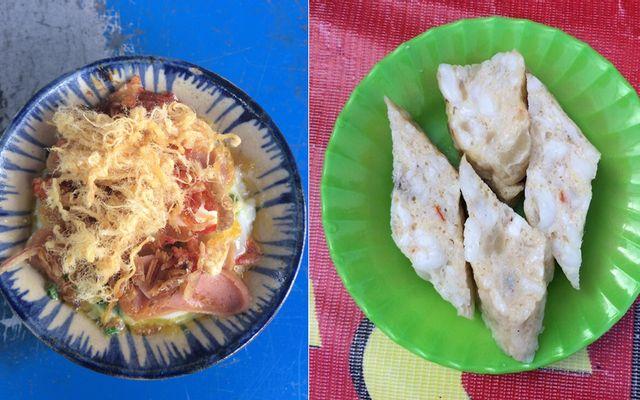 Răng Mực, Bánh Tráng Đà Lạt & Trứng Chén Nướng